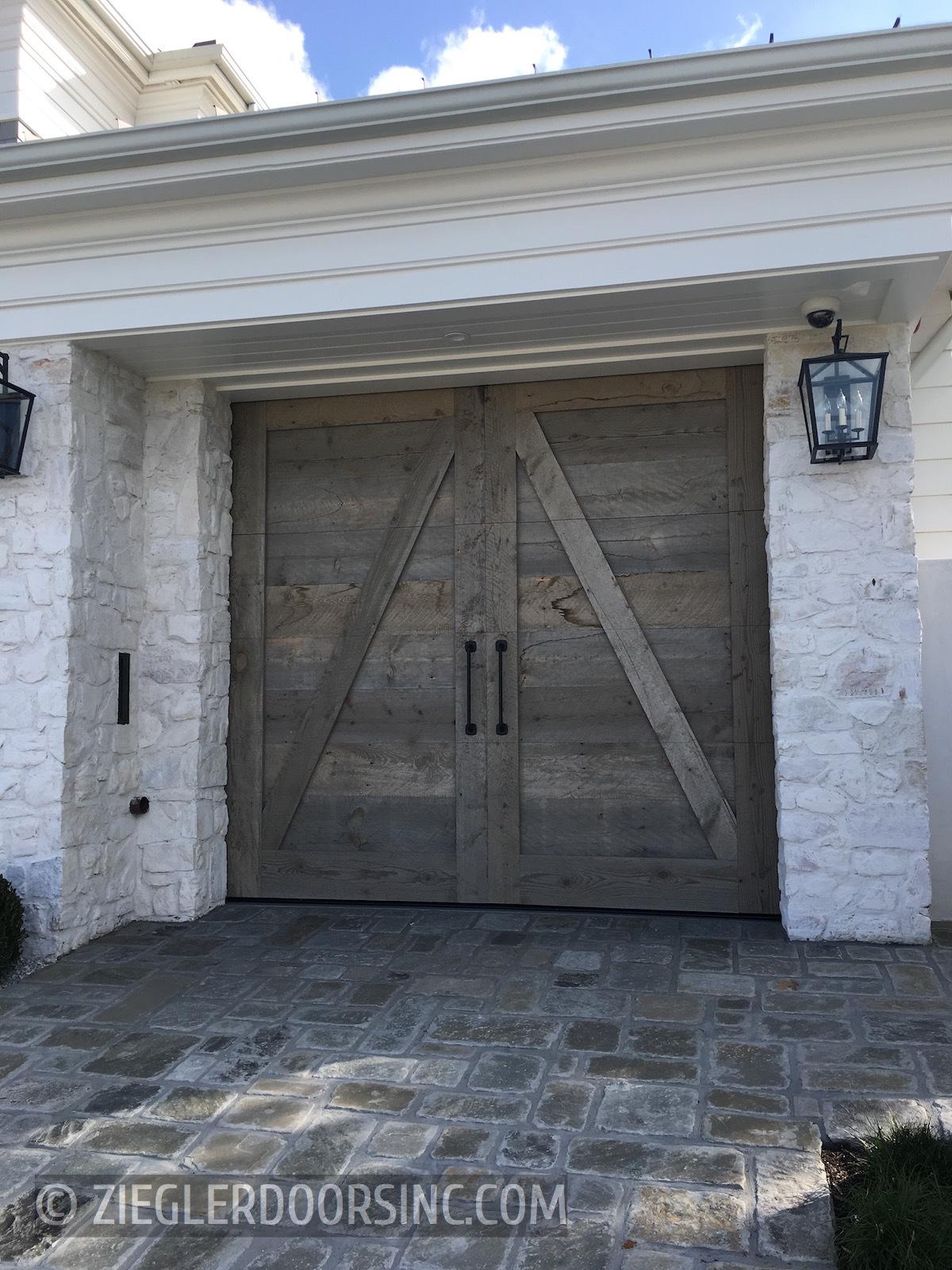 Reclaimed Wood Garage Doors Zielger, Reclaimed Barn Wood Garage Doors