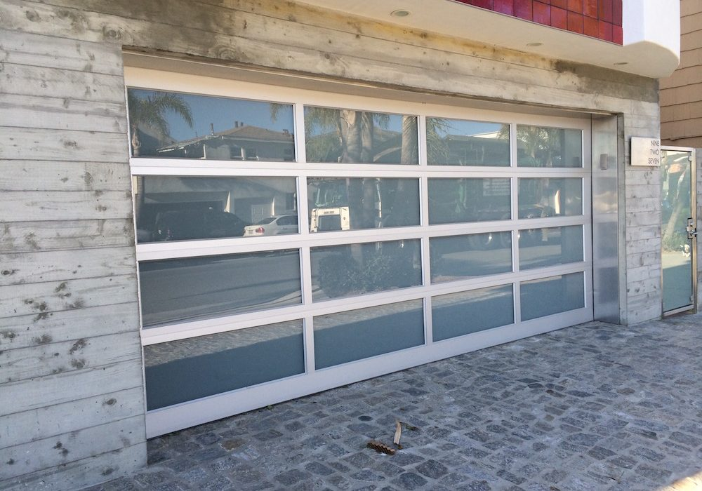 Aluminum & Glass Garage Doors